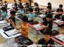 1学期/6月 習字指導(年長)